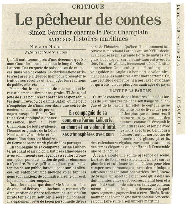 2003-10-16-lesoleil
